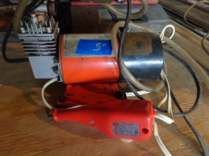 Dremel tool and air compressor