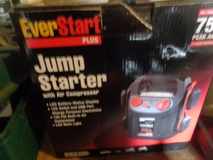 EverStart jump starter with air compressor