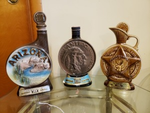 (3) Vintage Liquor Bottles - Arizona, Antioch, And Centennial