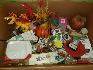 Box Of Home Goods Lot