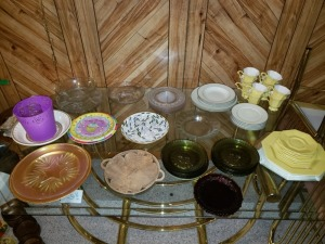 Assorted Dishes Lot