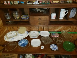 Dishes And Bake Ware Lot