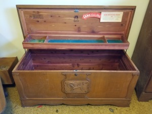 LANE CEDER CHEST LOT