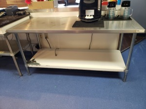 6FT Stainless Table NSF