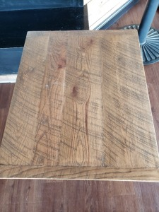 (1) 2 FT x 2.5 FT Table Faux Wood Top
