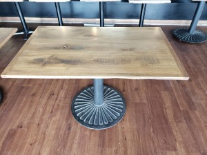 (1) 3.5 FT x 4 FT Table Faux Wood Top