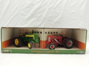 1/16th RC2 John Deere Dubuque Collector Set of (2)-wide front tractors