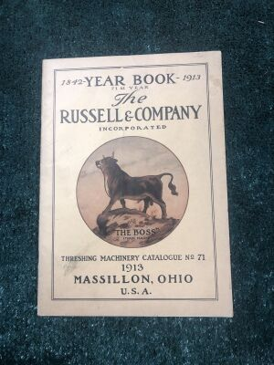 The Russel & Co. 1913 Threshing Machinery Catalog No. 71
