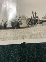 Vintage GA Bell Threshing Outfit Photograph - 2