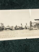 Vintage GA Bell Threshing Outfit Photograph - 3
