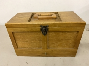 GUN CLEANING TOOLBOX AND PARTS
