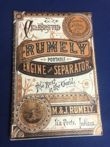The Celebrated M. & J. Rumely Portable Engine and Separator Catalog
