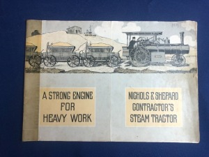 Nichols & Shepard Contractor's Steam Traction Engines