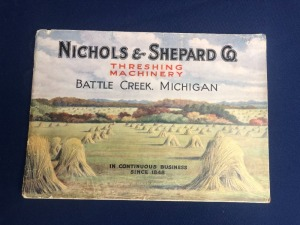 Nichols & Shepard Steam Traction Engines Catalog
