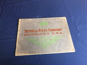 Buffalo Pitts Traction Engines and Threshers Sales Brochure