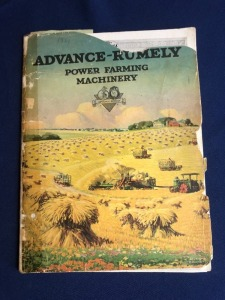 Advance-Rumely Power Farming Machinery