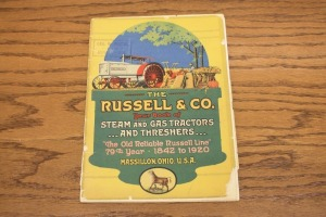 The Russel & Co. Year Book of Steam and Gas Tractors and Threshers
