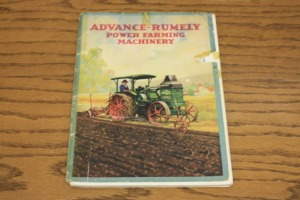 Advance-Rumely OilPull Power Farming Machinery Line Catalog