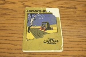 Advance-Rumely OilPull Sales Catalog
