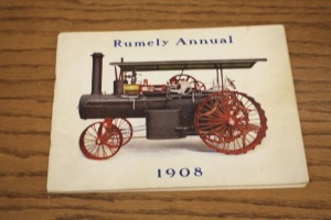 1908 Rumely Annual Sales Catalog