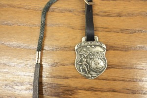 Advance-Rumely OilPull Watch Fob with Banner Boy