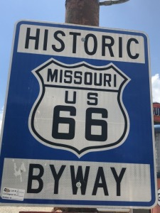 Historic US 66 Byway Sign