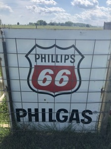 Phillips 66 Philgas Station ID Sign
