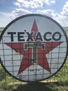 Texaco Station ID Sign