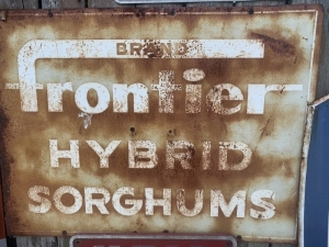 Brand Frontier Hybrid Sorghums