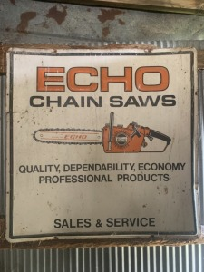 Echo Chain Saws Sales and Service