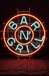 Bar N' Grill Neon Sign
