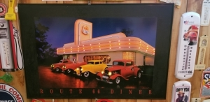 Route 66 Diner LED