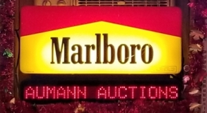 Marlboro Moving Messages light up sign