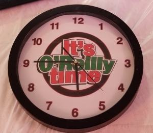 It's O'Reilly Time clock