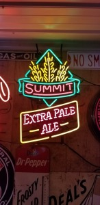 Summit Extra Pale Ale Neon Sign