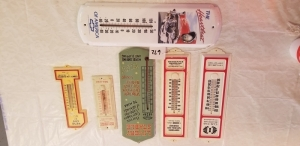 6 Advertising thermometers