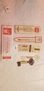 7 Advertising thermometers