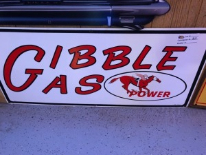 Gibble Gas Power Sign