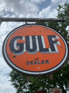 Gulf Dealer Station ID Sign