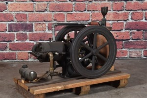 Unknown Small Horizontal Gas Engine