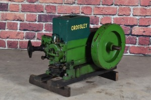 Crossley Dominion Type 1040 with Compressor Cylinder
