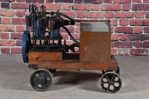 Walter E. Dunn Two Cylinder Marine Engine