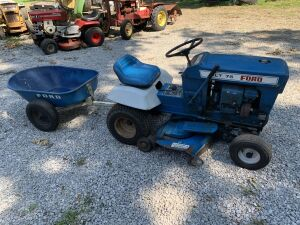 Ford LT 75 W/Cart