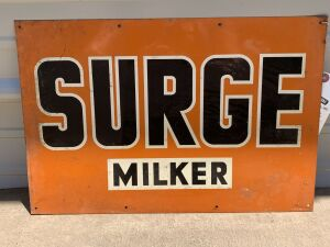 Surge Miller Tin Tacker Sign