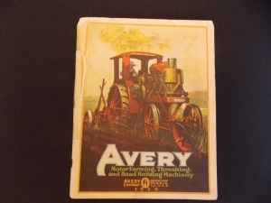 Avery, Motor Farming, Threshing, and Road Building Machinery 1920