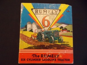 Rumely 6 booklet