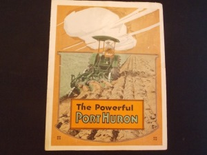 Port Huron fold out poster 1919
