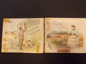 Literature Lot (2) 1901 and 1902 Huber Threshing Machinery catalogues
