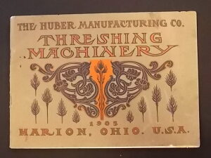 1905 Huber Manufacturing Co. catalogue