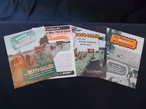 Literature Lot (4) Allis-Chalmers Brochures